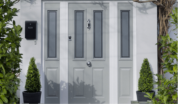 Composite Door Grey