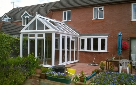 Conservatory White Gable