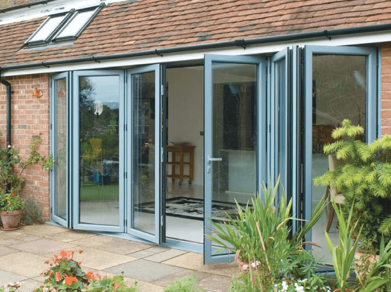 Bi fold doors select windows doors bi fold doors blue planetlyrics Gallery