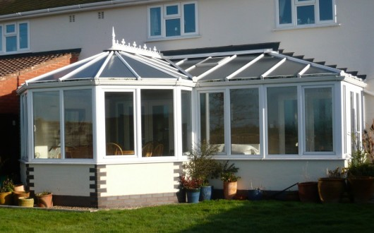 Conservatory - P-shape Hipped